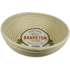 """BANNETON BANNETON Round Proofing Basket 10""""x3"""""""