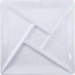 Swissmar SWISSMAR Fondue/Raclette Plate Square White