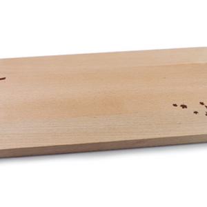"""Swissmar SERVING BOARD MAPLE - CANOE & TREE ENGRAVING 18""""X8""""X.75"""""""