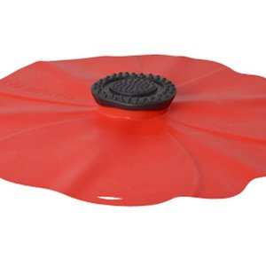 """Port-Style Lid Silicone POPPY 8"""""""