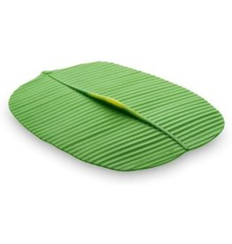 Port-Style Lid Silicone Banana Leaf oval