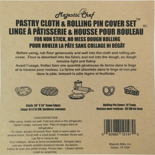 Port-Style MAJESTIC-CHEF Pastry Cloth