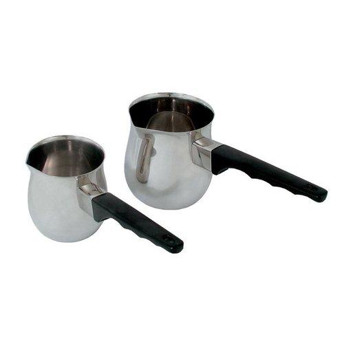 Adamo Import Turkish coffee Maker 24 oz black handle