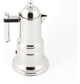 Adamo Import KONTESSA S/S 4 cups Stovetop Espresso Maker