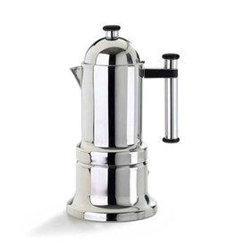 Adamo Import KONTESSA S/S 12 cups Stovetop Espresso Maker
