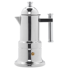 Adamo Import KONTESSA S/S 6 cups Stovetop Espresso Maker