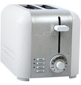 Cuisinart Toaster white Hybrid 2 slice CUISINART