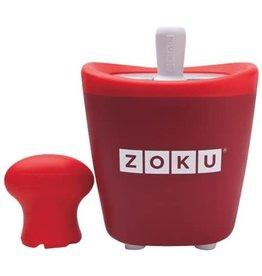 RSVP Zoku Single Quick Pop Maker Red