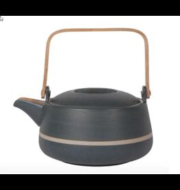 Danica Teapot Orb Navy Stripe