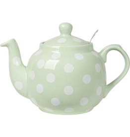 Danica TEAPOT FARMHOUSE MINT/WHITE SPOTS 4-CUP
