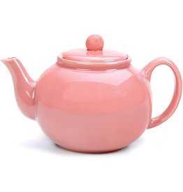 Danica Stoneware Teapot Pink 2cup