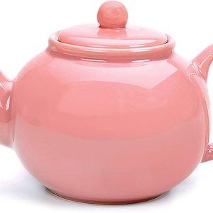 Danica Stoneware Teapot Pink 2cup