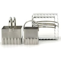 Square biscuit cutters - Ripple