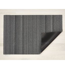 "Chilewich Utility Mat Skinny Stripe SHADOW 24"" x 36"""