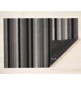 "Chilewich Utility Mat Even Strip Shag MINERAL 24"" x 36"""