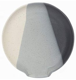 Danica Spoon Rest Reactive Glaze Shadow
