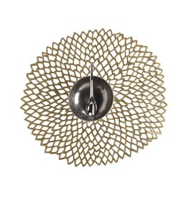 Chilewich Placemat Pressed Dahlia BRASS