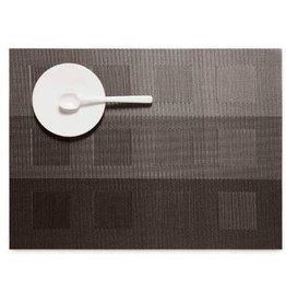 Chilewich Placemat Engineered Squares STEEL