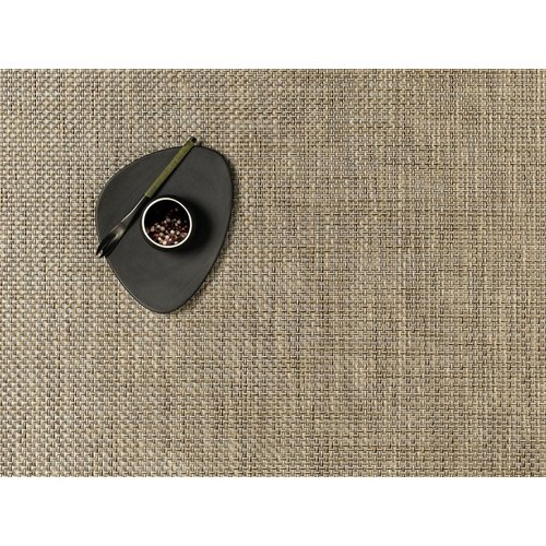 Chilewich Placemat Basketweave LATTE
