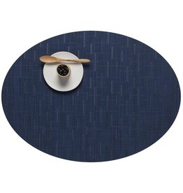 Chilewich Placemat Bamboo Oval LAPIS