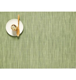 Chilewich Bamboo Placemat Spring Green 14x19