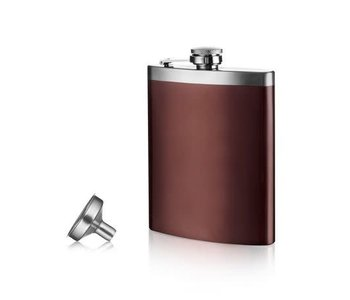 Hip flask and funnel set VACUVIN