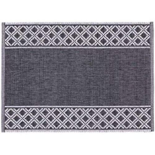 "Now Designs PLACEMAT SHETLAND BLACK 13"" X 19"""