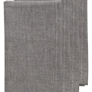 Now Designs Napkin Chambray Pewter