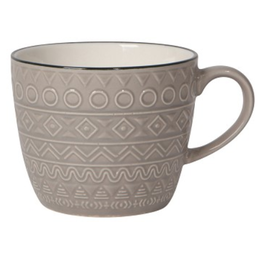 Danica Mug 12oz Casablanca Grey (porcelain)