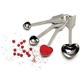 RSVP Measuring Spoons HEART SHAPED RSVP