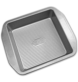 "USA Pan ABC Silicone Square Cake Pan 8""x8""x2"" -USA PAN"