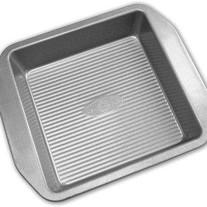 "USA Pan ABC Silicone Square Cake Pan 8""x8""x2"" -USA PAN"