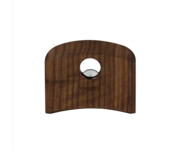 CRISTEL Castelline Removable Side Handle Walnut (one Handle)