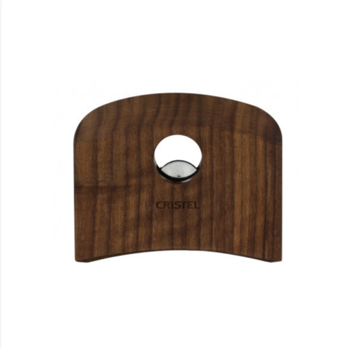 Cristel USA Inc. CRISTEL Castelline Removable Side Handle Walnut (one Handle)