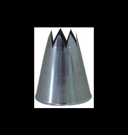 DeBuyer DEBUYER S/S Star Nozzle - No Welding - F8 - 2.5 cm.
