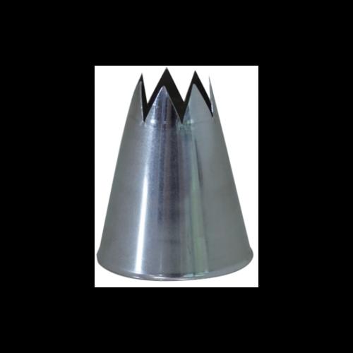 DeBuyer DEBUYER Stainless Steel Star Nozzle - No Welding - F8 - 2.5 cm.