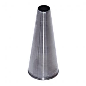 DeBuyer DEBUYER S/S Plain Nozzle -No Welding - 0.6 cm.