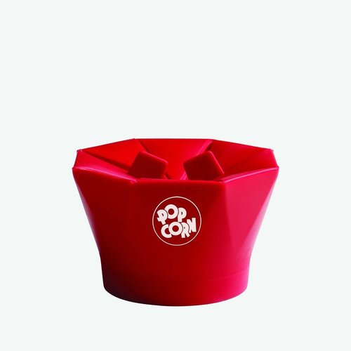 Chefn CHEFN PopTop Popcorn Popper - Cherry