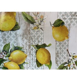 Carol's Nicetys Italian Vinyl Tablecloth Lemons