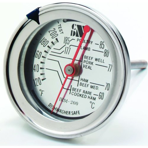 Browne CDN Therm Meat/Poultry Ovenproof DIAL STYLE