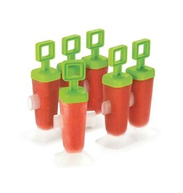 Cuisipro CUISIPRO Pop molds square shape lime green