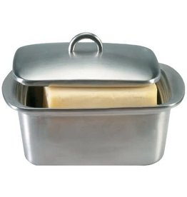 Danesco Butter Box Stainless Steel 1lb DOUBLE WALLED