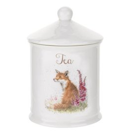 Royal Selangor Portmeirion WRENDALE TEA CANISTER FOX 5.75""