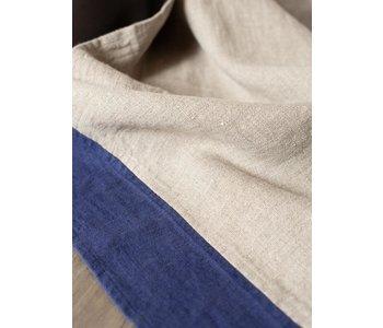 Tea Towel LE CHEF Natural Marlin Blue 100% Linen