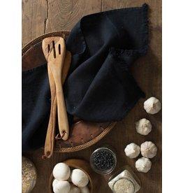 """Linenway Tea Towel BILBAO NAVY 100% Linen 20"""" x 28"""""""