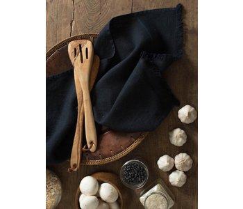 """Tea Towel BILBAO NAVY 100% Linen 20"""" x 28"""""""