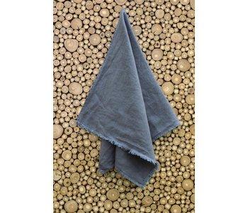 "Tea Towel BILBAO GREY 100% Linen 17"" x 28"""