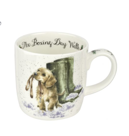 Royal Selangor Portmeirion WRENDALE Mug Boxing Day Walk 11oz