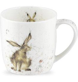 Royal Selangor Portmeirion WRENDALE Good Hare Day mug.