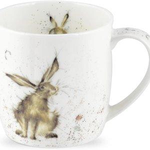Wrendale WRENDALE Good Hare Day mug.